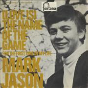 Click here for more info about 'Mark Jason - (Love Is) The Name Of The Game - P/S'