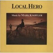 Mark Knopfler Local Hero - Textured Sleeve UK vinyl LP