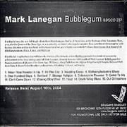 Click here for more info about 'Mark Lanegan - Bubblegum'