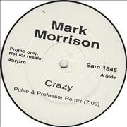 Click here for more info about 'Mark Morrison - Crazy'
