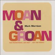 Click here for more info about 'Mark Morrison - Moan & Groan'