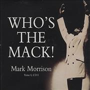 Click here for more info about 'Mark Morrison - Who's The Mack!'