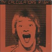 Click here for more info about 'Mark Zed - My Calculator's Right'