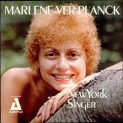 Click here for more info about 'Marlene VerPlanck - A New York Singer'