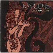 Click here for more info about 'Maroon 5 - Songs About Jane - VG'