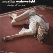 "Martha Wainwright Bleeding All Over You UK 7"" vinyl"