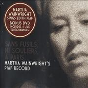 Martha Wainwright Sans Fusils, Ni Souliers, A Paris. Martha Wainwright's Piaf UK 2-disc CD/DVD set