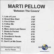 Click here for more info about 'Marti Pellow - Between The Covers'