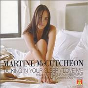 Click here for more info about 'Martine McCutcheon - Talking In Your Sleep'