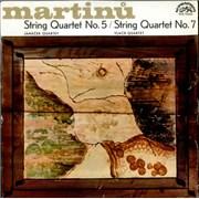 Click here for more info about 'Bohuslav Martinu - String Quartet No. 5 / String Quartet No. 7'