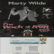 Click here for more info about 'Marty Wilde - The Rock n' Roll 50's + Ticket stubs'