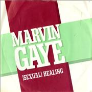 Click here for more info about 'Marvin Gaye - (Sexual) Healing - P/S'