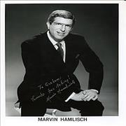 Click here for more info about 'Marvin Hamlisch - Autographed Publicity Photograph'