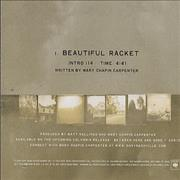 Click here for more info about 'Mary Chapin Carpenter - Beautiful Racket'