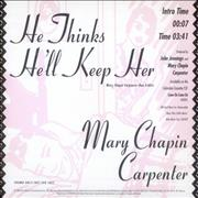 Click here for more info about 'Mary Chapin Carpenter - He Thinks He'll Keep Her'
