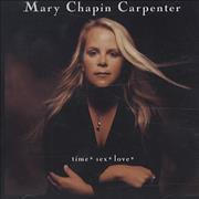 Click here for more info about 'Mary Chapin Carpenter - Time Sex Love'