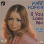Click here for more info about 'Mary Hopkin - If You Love Me'