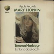 Click here for more info about 'Mary Hopkin - Temma Harbour - Green Titles - Solid - VG'