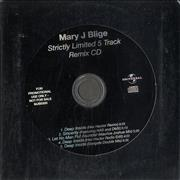 Click here for more info about 'Mary J Blige - Strictly Limited 5 Track Remix CD'