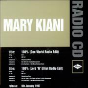 Click here for more info about 'Mary Kiani - 100% - One Hundred Percent'