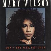 Click here for more info about 'Mary Wilson - Don't Get Mad, Get Even'
