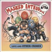 Click here for more info about 'Masked Intruder - Love and Other Crimes - Hot Pink and Baby Pink Vinyl'