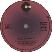 Click here for more info about 'Mass Production - I Believe In Music'