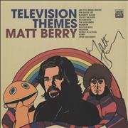 Click here for more info about 'Matt Berry - Television Themes - Autographed'