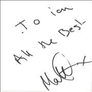 Click here for more info about 'Matt Cardle - Autograph'