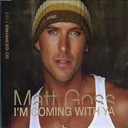 Click here for more info about 'Matt Goss - I'm Coming With Ya'
