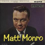 Click here for more info about 'Matt Monro - Matt Monro EP'