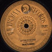 Click here for more info about 'Matumbi - After Tonight'