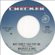 Click here for more info about 'Maurice & Mac - Why Don't You Try Me'