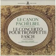 Click here for more info about 'Maurice André - Le Canon De Pachelbel & Deux Suites Pour Cordes / Le Concerto Pour Trompette De Fasch & Deux Symphon'