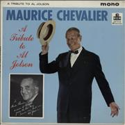Click here for more info about 'Maurice Chevalier - A Tribute To Al Jolson - Factory Sample'