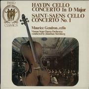 Click here for more info about 'Maurice Gendron - Haydn: Concerto In D Major / Saint-Saens: Concerto No. 1'