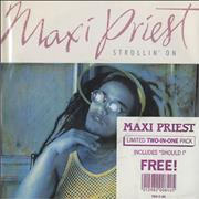 Click here for more info about 'Maxi Priest - Strollin' On'