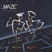 Click here for more info about 'Maze - Can't Stop The Love'