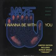 Click here for more info about 'Maze - I Wanna Be With You - Double pack'