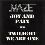 Click here for more info about 'Maze - Joy & Pain'