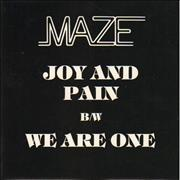 Click here for more info about 'Maze - Joy And Pain'