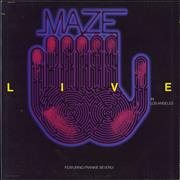 Click here for more info about 'Maze - Live In Los Angeles'