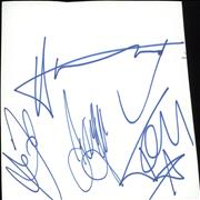 Click here for more info about 'McFly - Set of Four Autographs'
