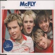 Click here for more info about 'McFly - That Girl - CD1'