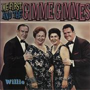 Click here for more info about 'Me First & The Gimme Gimme's - Willie - Blue vinyl'