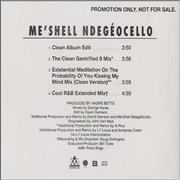Click here for more info about 'Me'Shell Ndegeocello - If That's You Boyfriend (He Wasn't Last Night)'