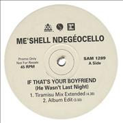 Click here for more info about 'Me'Shell Ndegeocello - It That's You Boyfriend [He Wasn't Last Night]'