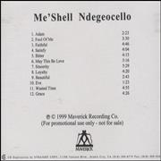 Click here for more info about 'Me'Shell Ndegeocello - Me'shell Ndegeocello'