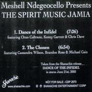 Click here for more info about 'Me'Shell Ndegeocello - The Spirit Music Jamia'