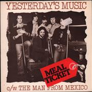 Click here for more info about 'Meal Ticket - Yesterday's Music'